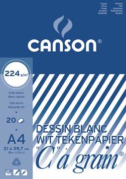 """Canson wit tekenpapier """"C"""" à grain®"""