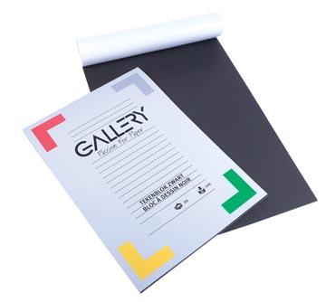 Gallery zwart tekenpapier
