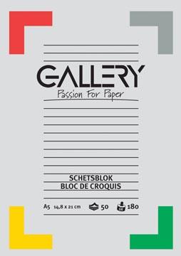 Gallery schetsblok 50 vellen
