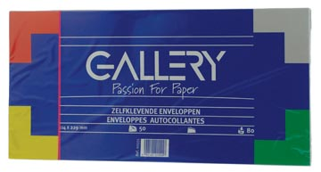 Gallery enveloppen ft 114 x 229 mm