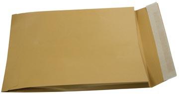 Gallery Bruine zak-enveloppen met balg