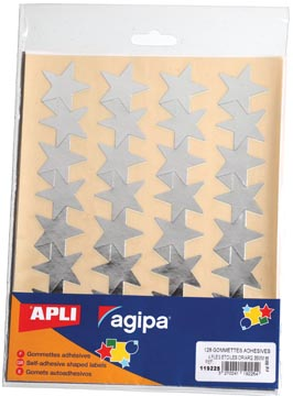 Apli Metallic stickers