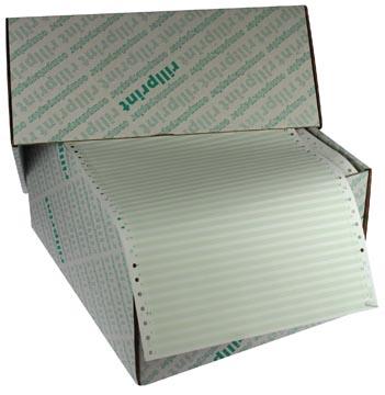 Zelfkopiërend gestreept papier