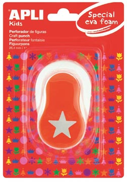 Apli Figuurpons voor schuimrubber
