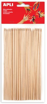 Apli houten staafjes