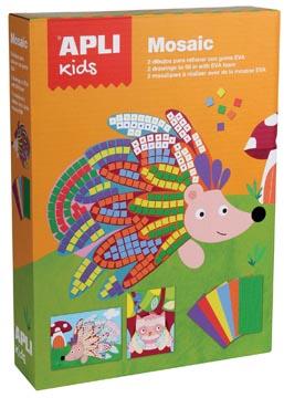 Apli Kids Knutselset schuimrubber mozaik