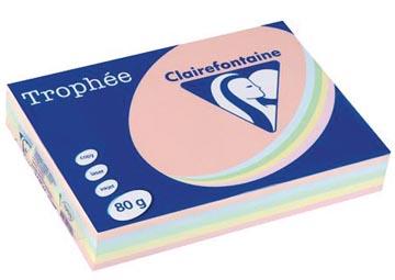 Clairefontaine gekleurd papier Trophée Pastel A4