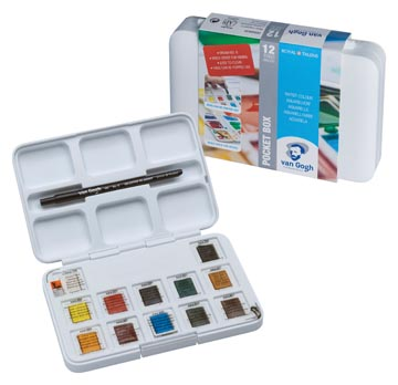 Van Gogh aquarelverf Pocket Box
