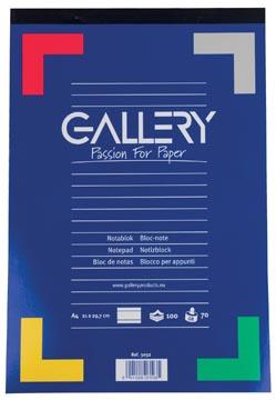 Gallery schrijfblok