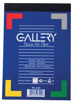 Gallery notitieblokje