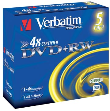 Verbatim DVD rewriteable