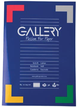 Gallery patroonschrift