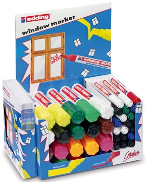 Edding display Window Marker 4090 - 4095