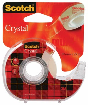Scotch® Plakband Crystal