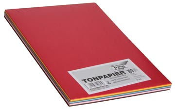 Folia gekleurd tekenpapier A4 100 vellen