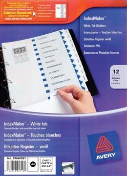 AVERY printbare indexmaker™ tabbladen