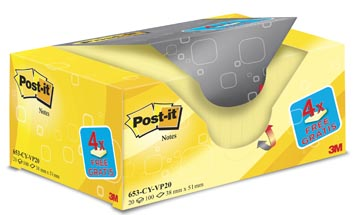 Post-it® Notes voordeelpak