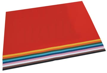 Folia gekleurd tekenpapier 50 x 70 cm 100 vellen