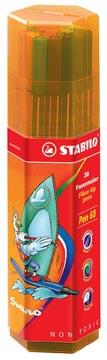 Stabilo viltstift Pen 68 Big Box