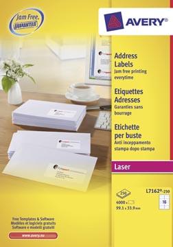 AVERY Witte laseretiketten QuickPEEL™