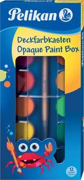 Pelikan verfdoos plakkaatverf Paintbox