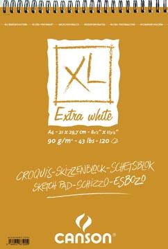 Canson schetsblok XL Extra White
