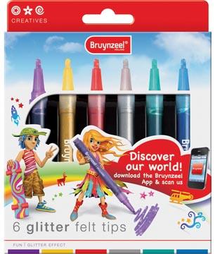Bruynzeel Viltstift Glitter