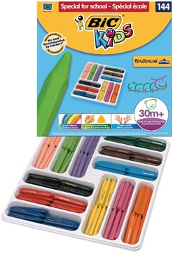 Bic waskrijt Plastidecor Triangle