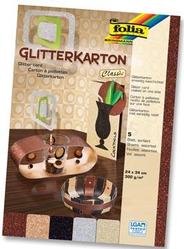 Folia Glitterkarton
