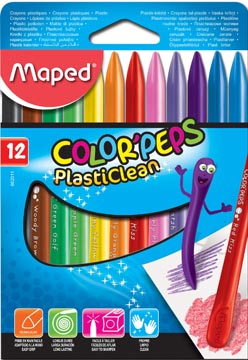Maped waskrijt Plasticlean