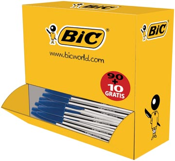 Bic Balpen Cristal Medium Value Pack