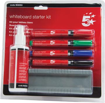 5Star™ starterskit voor whiteboards