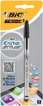 Bic balpen en Stylus Cristal in 1