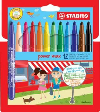 Stabilo Viltstift Power Max