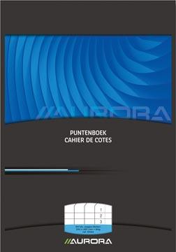 AURORA Puntenboek