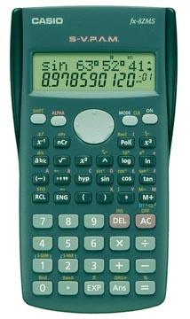 Casio wetenschappelijke rekenmachine FX 82 MS