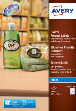 AVERY Glanzende productetiketten
