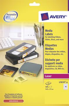 Multimedia etiketten