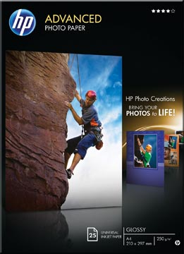 Hewlett Packard Fotopapier Advanced