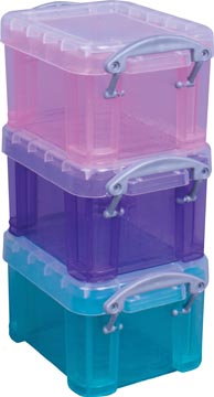 Really Useful Boxes Transparante opbergdoos 0,14 l